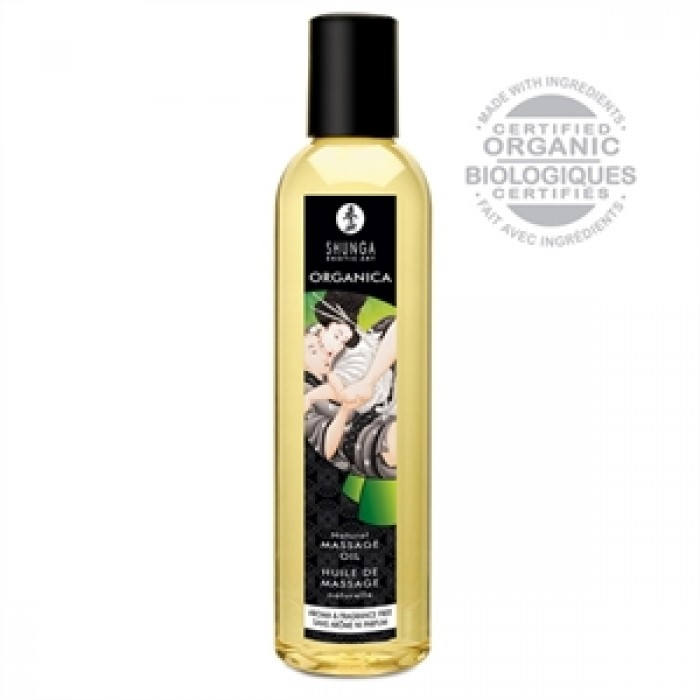 Huile de Massage ORGANICA Sans Arôme ni Parfum