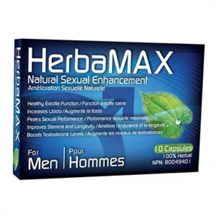 HERBAMAX HOMME 10 CAPSULES