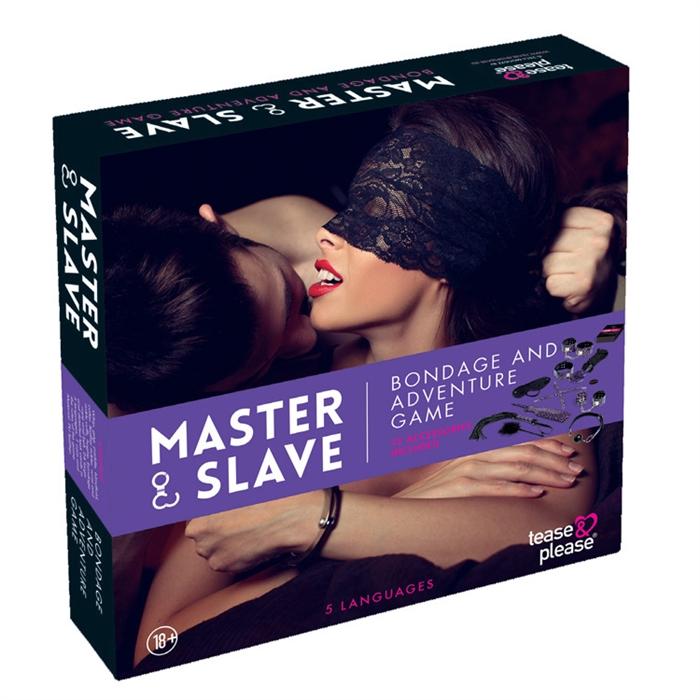 BDSM MASTER & SLAVE PREMIUM KIT MULTILANGUES